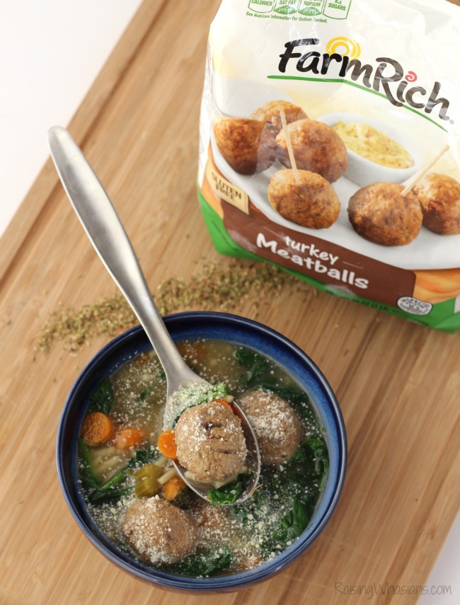 Farm rich gluten free turkey meatballs review Gluten-Free Slow Cooker Italian Wedding Soup Recipe | A delicious healthier twist on a hearty soup for the family, made in your crock pot, no gluten #Recipe #SlowCooker #Soup #EasyRecipe #GlutenFree #GlutenFreeRecipe