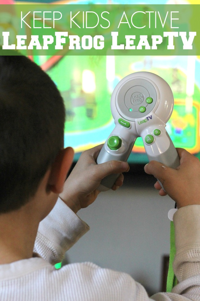 How to keep kids active LeapFrog LeapTV
