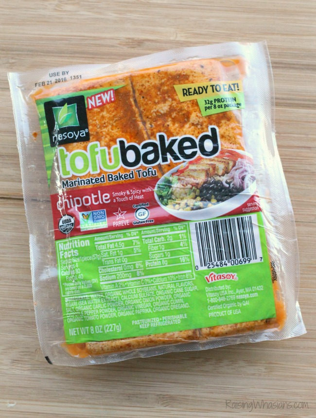 Nasoya tofubaked review Loaded Vegetarian Nachos Recipe | Easy to make and protein packed Vegetarian Nachos Recipe, perfect for game day! Smoky Chipotle flavor with Nasoya Tofu #Recipe #GameDayRecipe #VegetarianRecipe