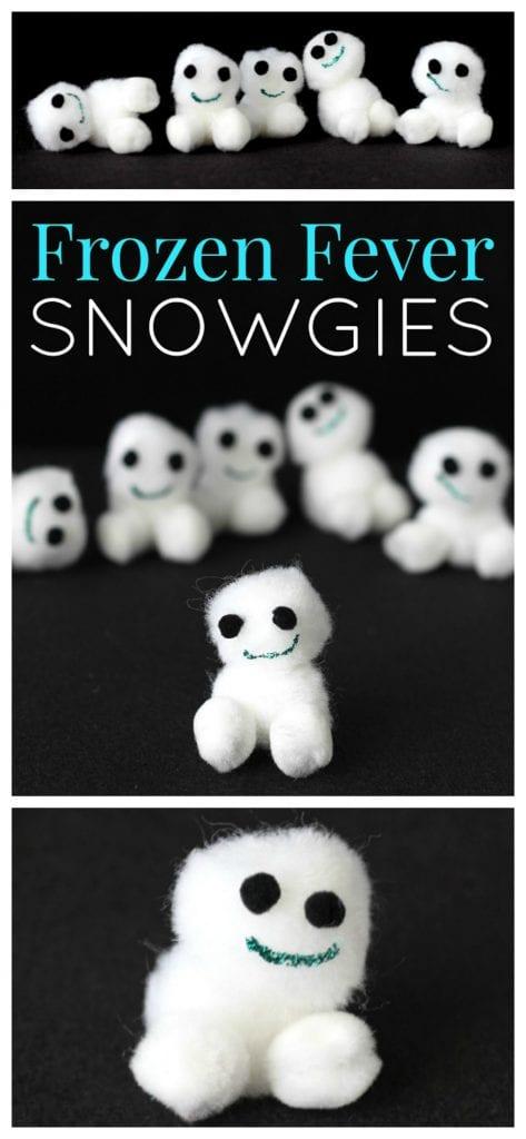 Snowgies craft idea pinterest