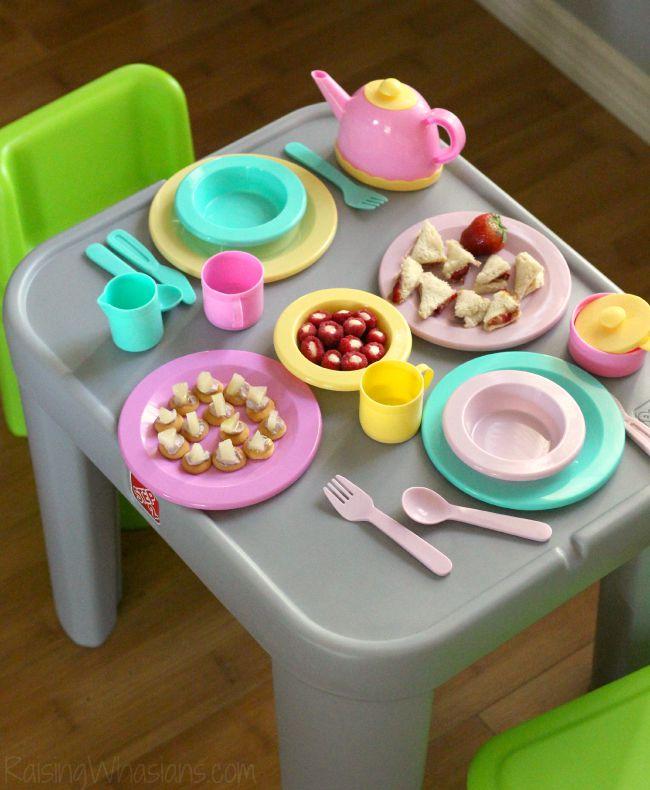 Toddler tea party ideas