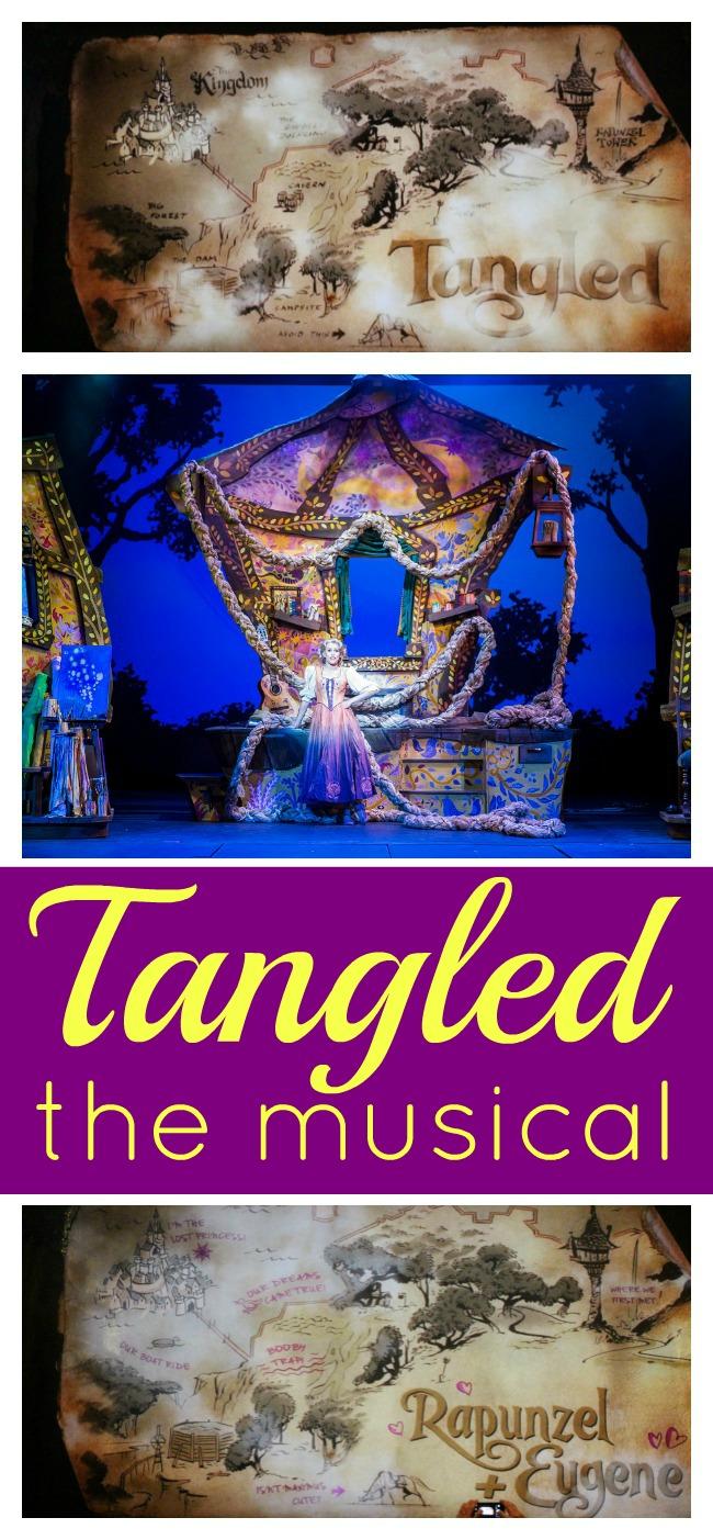 Disney magics tangled the musical