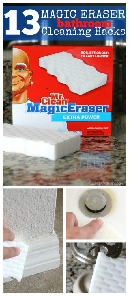 Magic eraser spring cleaning hacks