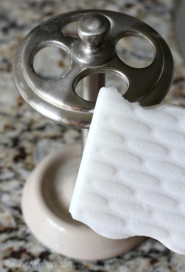 Magic eraser uses bathroom