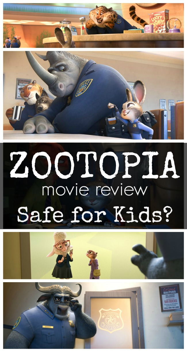 Zootopia review for children