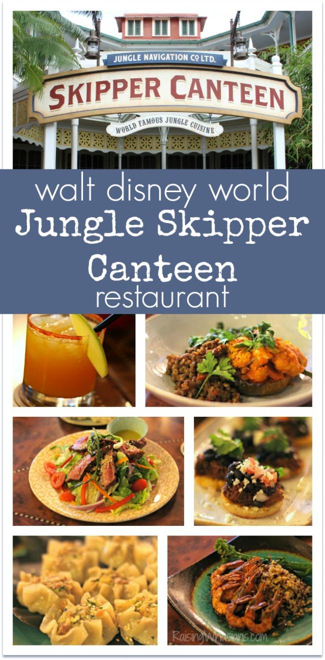 Jungle skipper canteen Disney magic kingdom