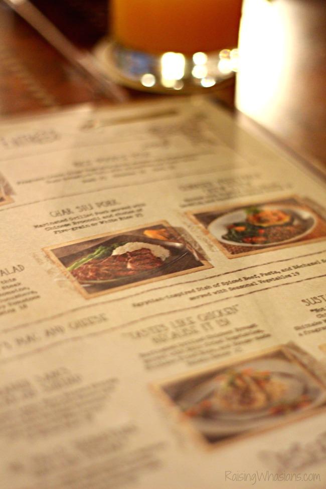 Jungle skipper canteen menu