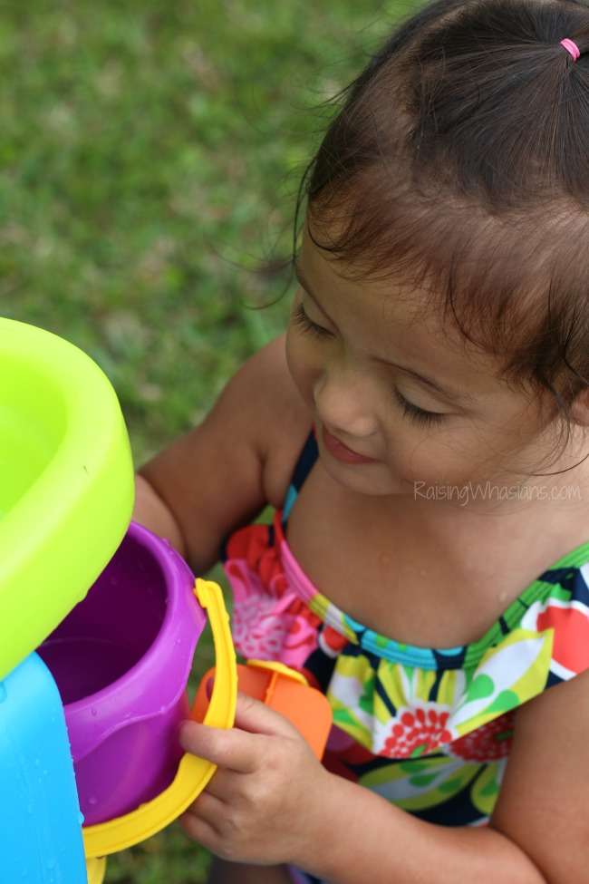 Summer ideas for toddlers water