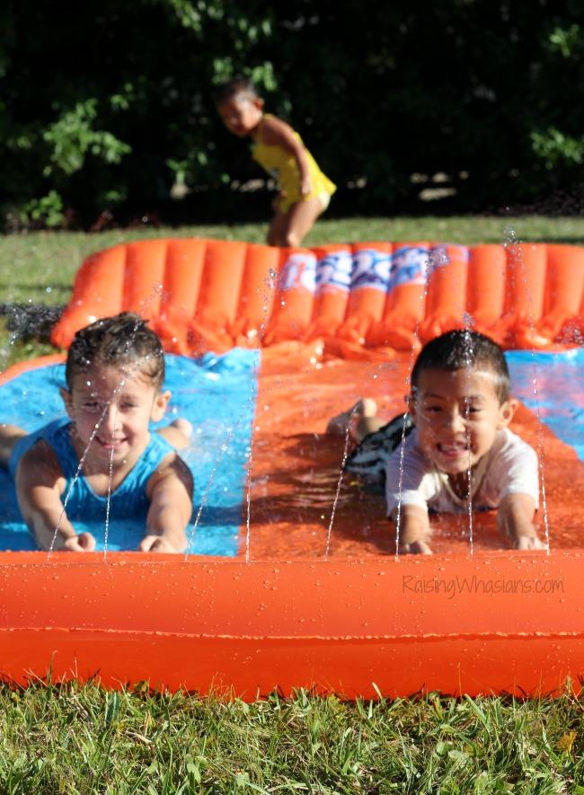 Best value water slide for summer