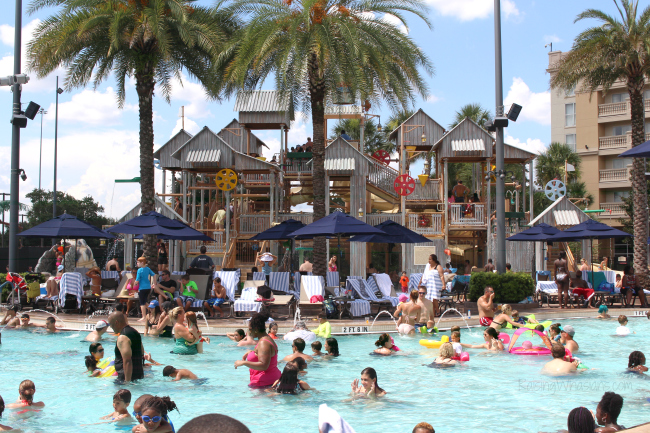 Best Orlando hotel pools for families