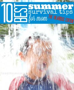 Best summer survival tips for mom