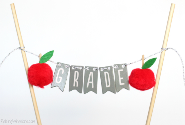 Mini back to school banner
