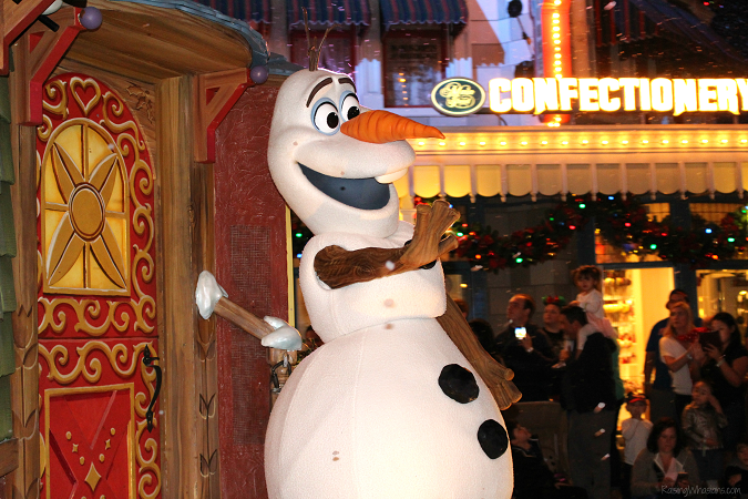 Disney world Christmas party tips