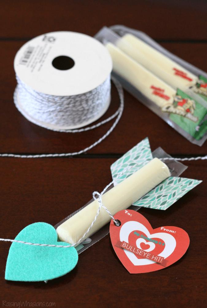 Free cupid arrow printable valentine
