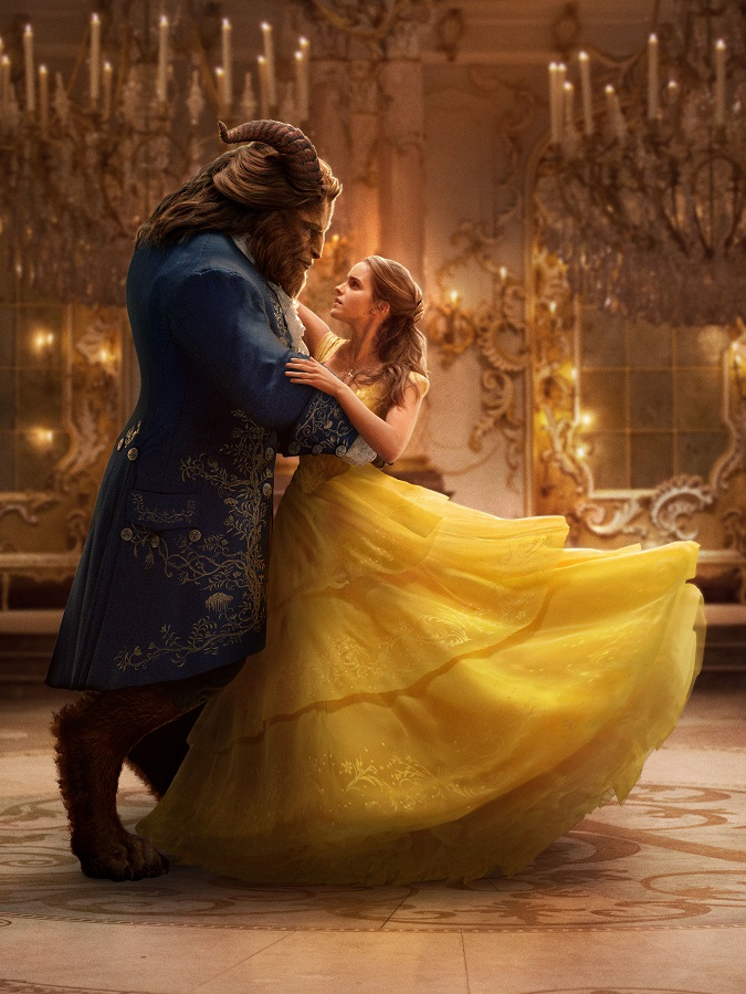 Beauty and the beast interview Emma Watson Dan Stevens