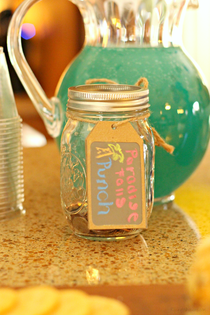 Disney up party drink ideas Disney Up Party Ideas + FREE Printable   Join us for a #DisneyKids inspired Disney themed party - food, decor, drinks, crafts, activities & FREE printable #Disney #DisneyParty #PartyPlanning #KidsParty