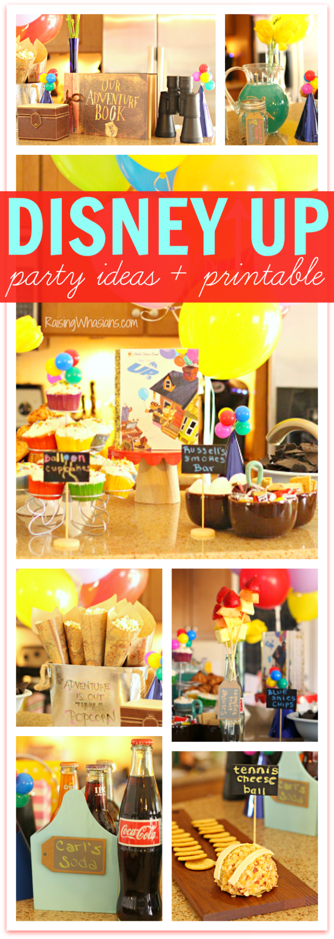 Disney up party ideas pinterest