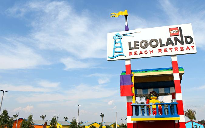 Legoland beach retreat check in