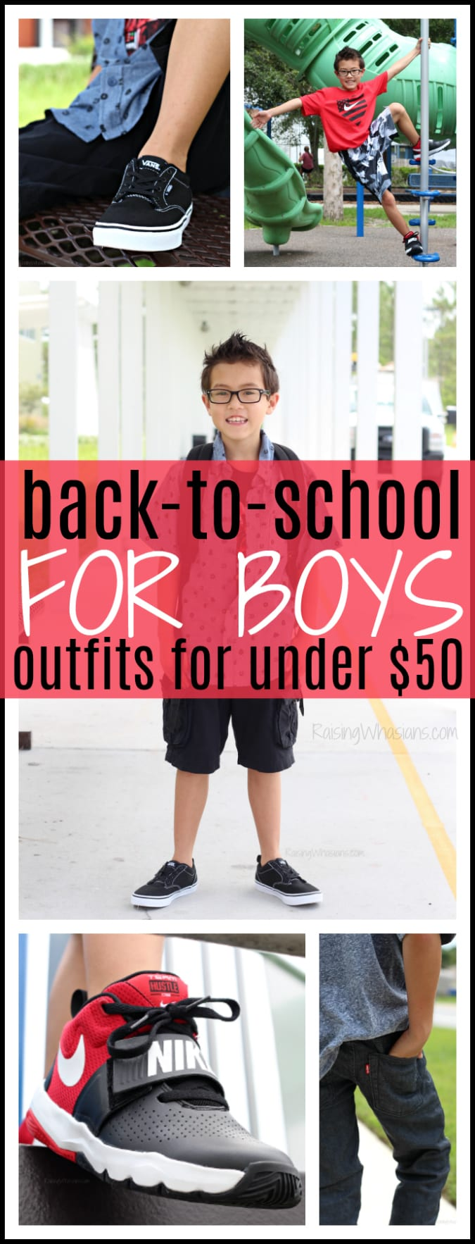 Back to school outfits for boys under 50