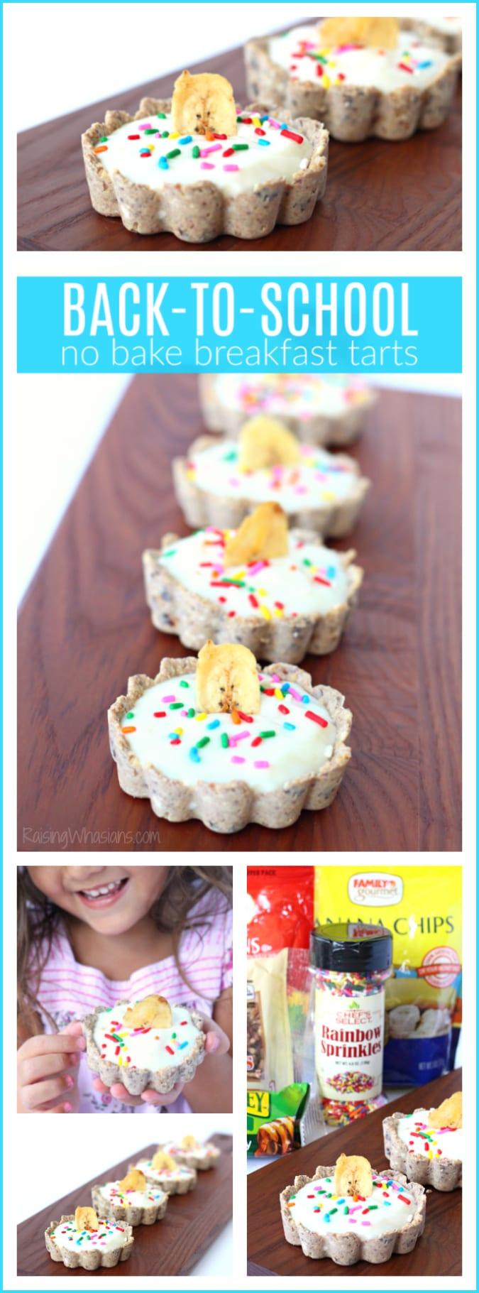 No bake breakfast tarts pinterest