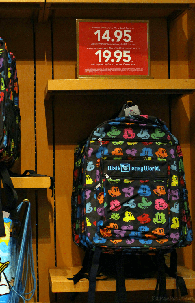 Back-to-school shopping Disney springs