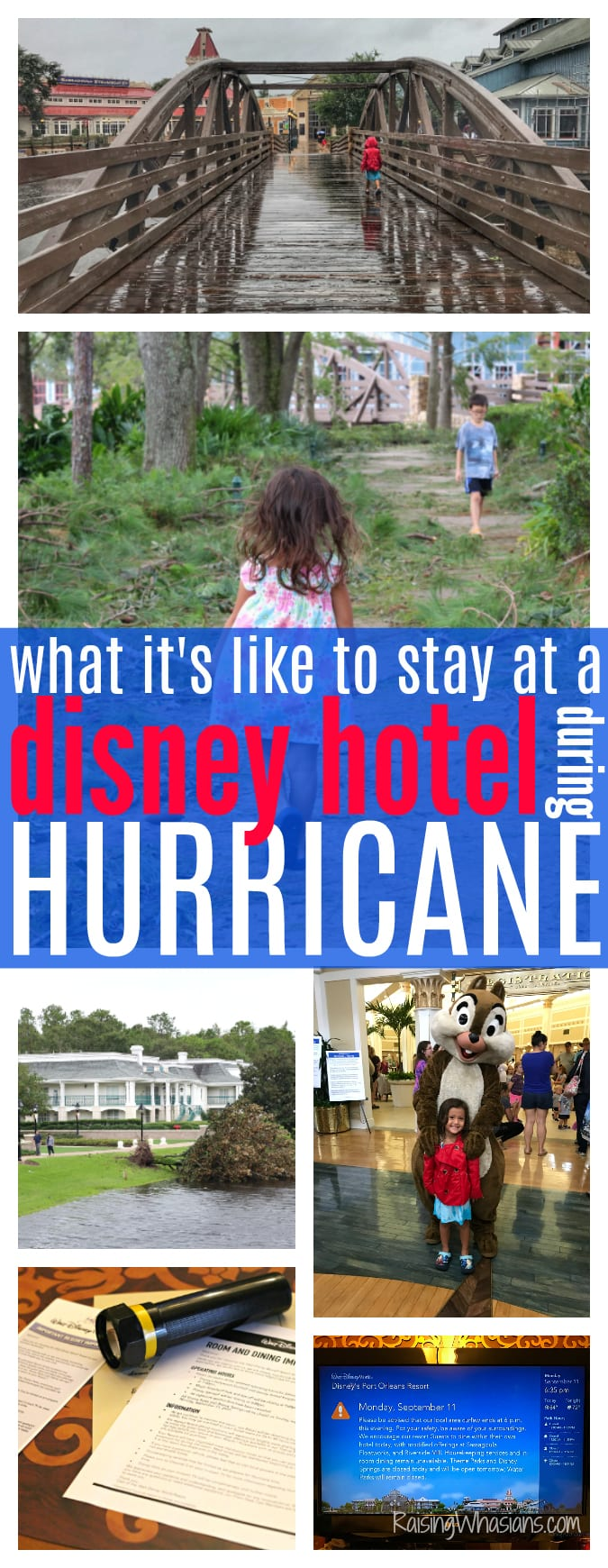 Hurricane Disney hotel tips - Would you evacuate to a Disney Hotel during a Hurricane? Here's what happened when we stayed at a Walt Disney World Resort for Hurricane Irma, MAGIC - Florida hurricane options for families at Disney - #Disney #DisneyHotel #HurricanePreparation #Travel