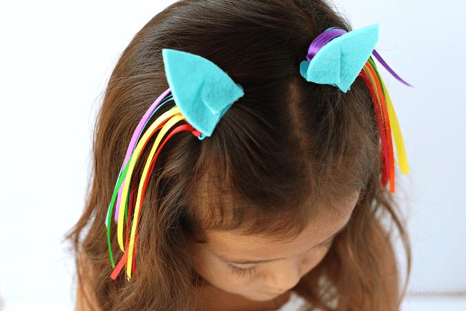 No sew my little pony ears