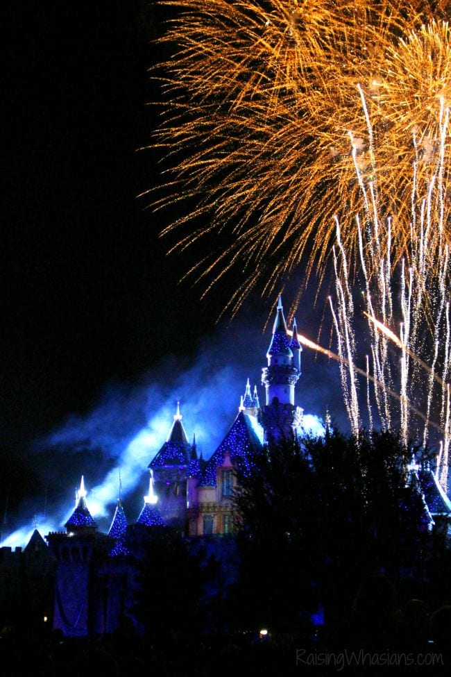 Disneyland fireworks show