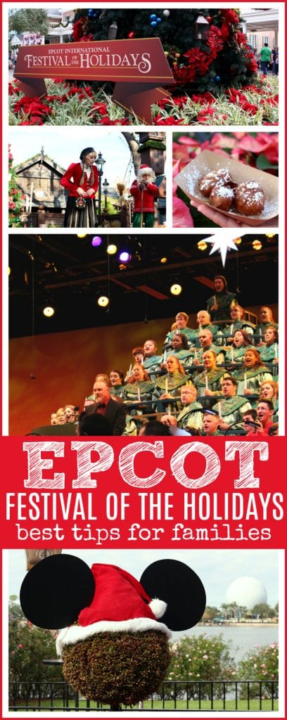 Epcot festival of the holidays best tips