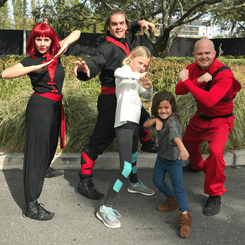 Lego Ninjago days martial artistry