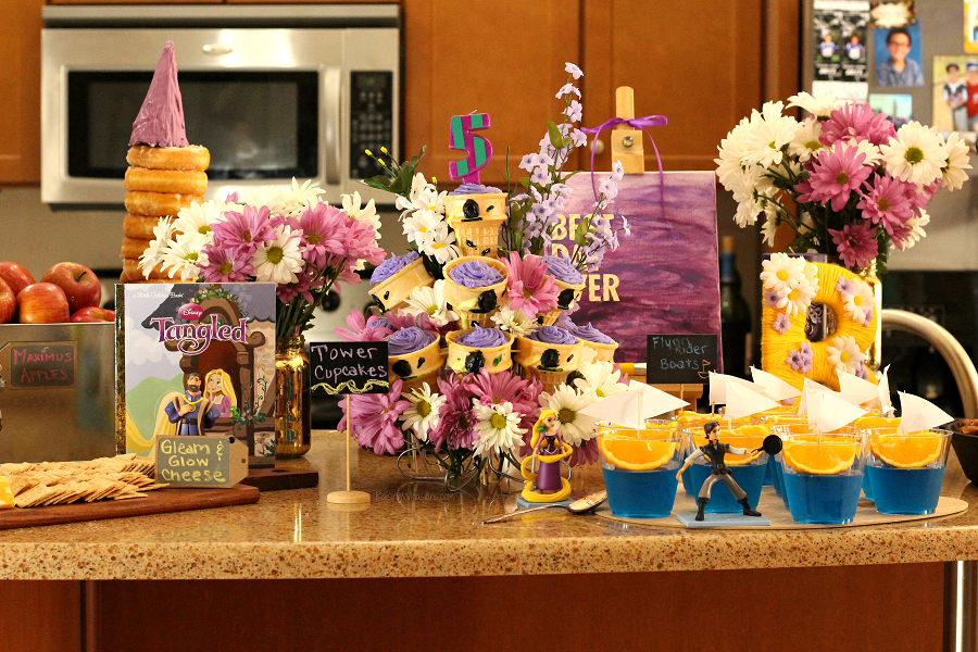Tangled party ideas