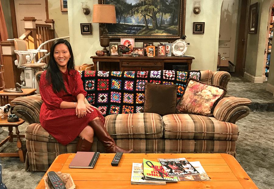 Roseanne cast interview on set