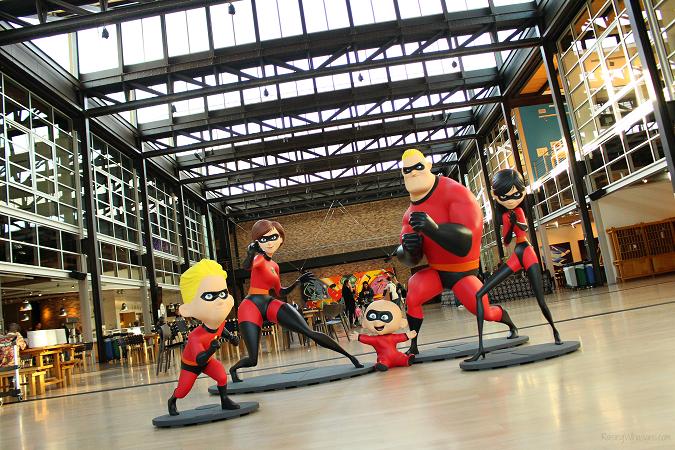 Pixar studios tour incredibles 2