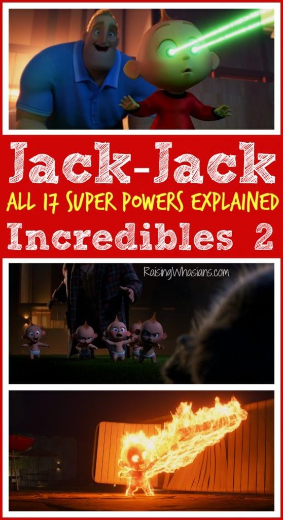 Jack-Jack super powers explained
