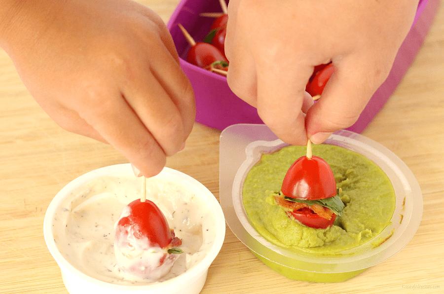 Best lunchbox dips for kids