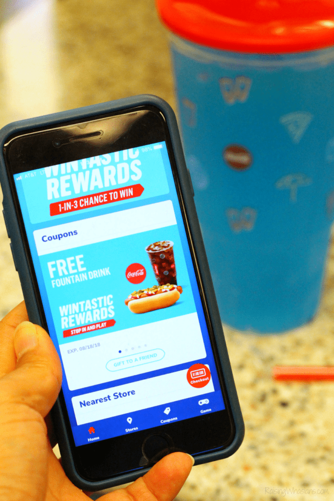 RaceTrac food coupons