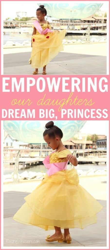 Disney empowering our girls