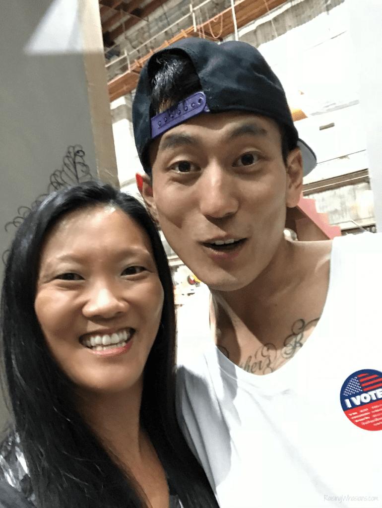 Jake Choi single parents interview