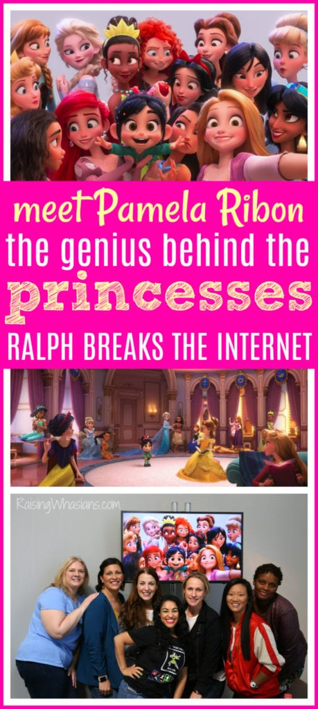 Pamela Ribon interview Disney
