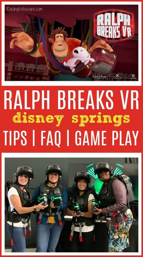Ralph breaks VR Disney springs