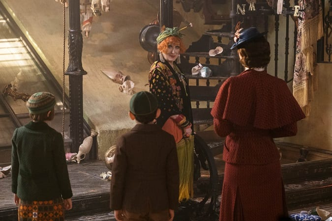 Mary Poppins returns review for kids
