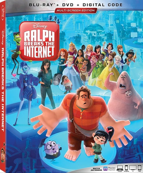Ralph breaks the internet bonus features