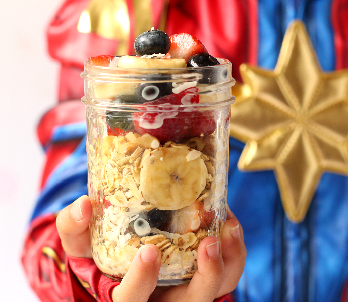 Healthy captain marvel recipes for kids