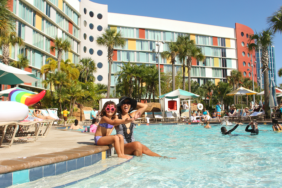 Cabana bay resort pool tips