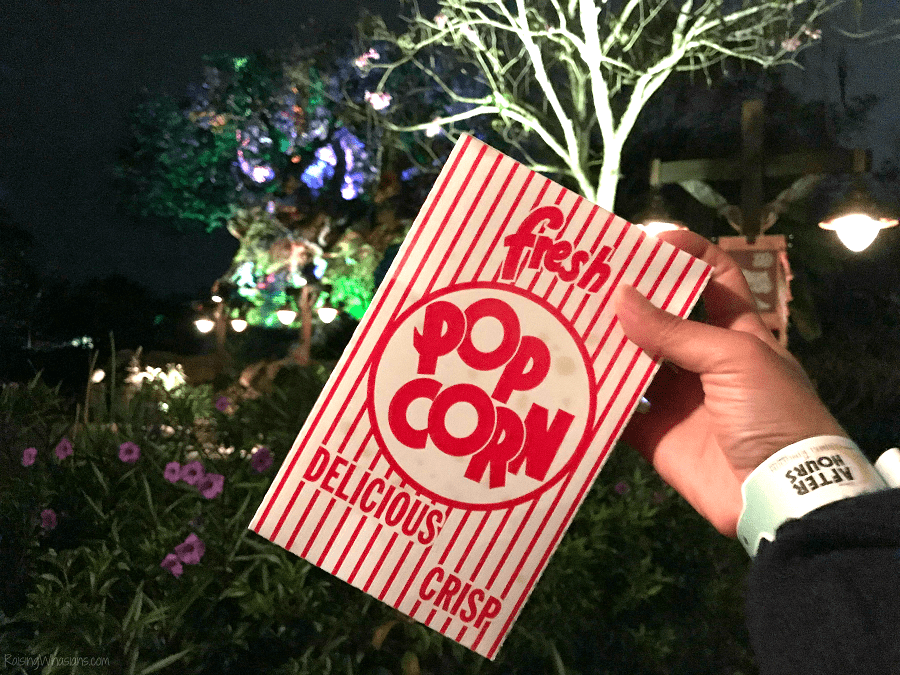 Disney after hours snacks included