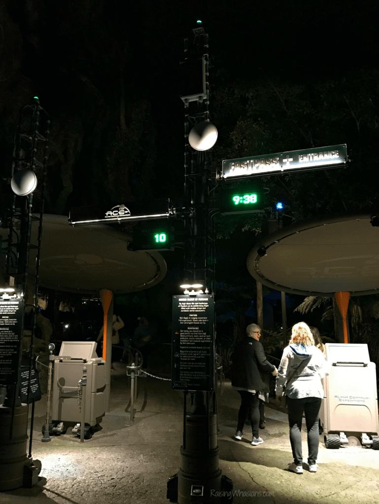 Flight of passage Disney after hours