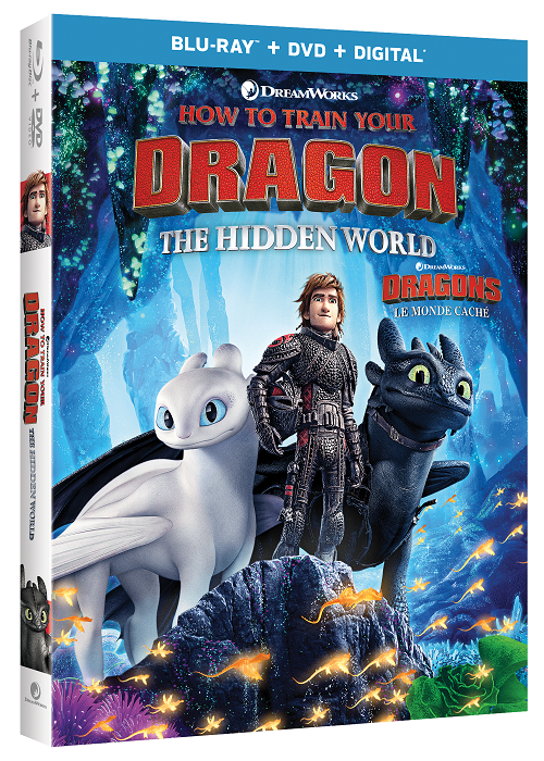 How to train your dragon the hidden world blu-ray bonus features