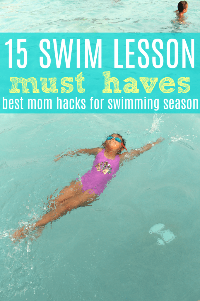 Swimming mom hacks