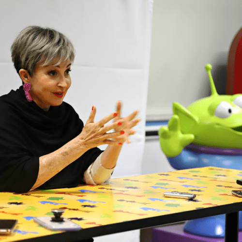 Toy story 4 Annie Potts interview