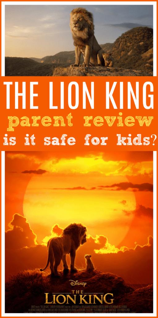 The lion king parent review